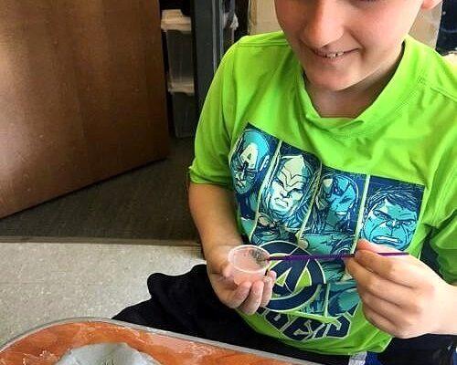 pottery green shirt