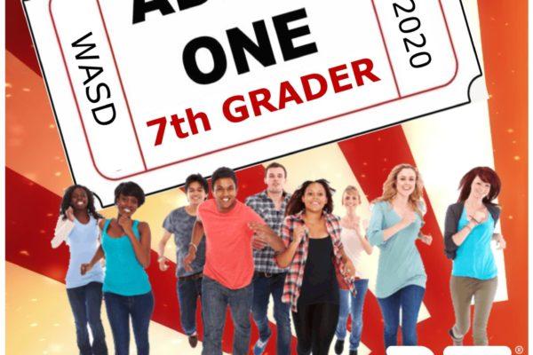 7th Grade Flyer cover