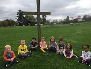 kids at cross